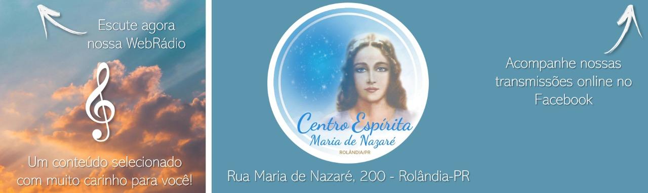 WebRádio Espírita Maria de Nazaré - Rolândia-PR