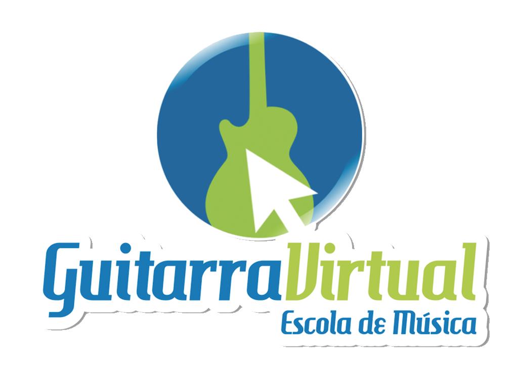 Publicidade Guitarra Virtual escola de música