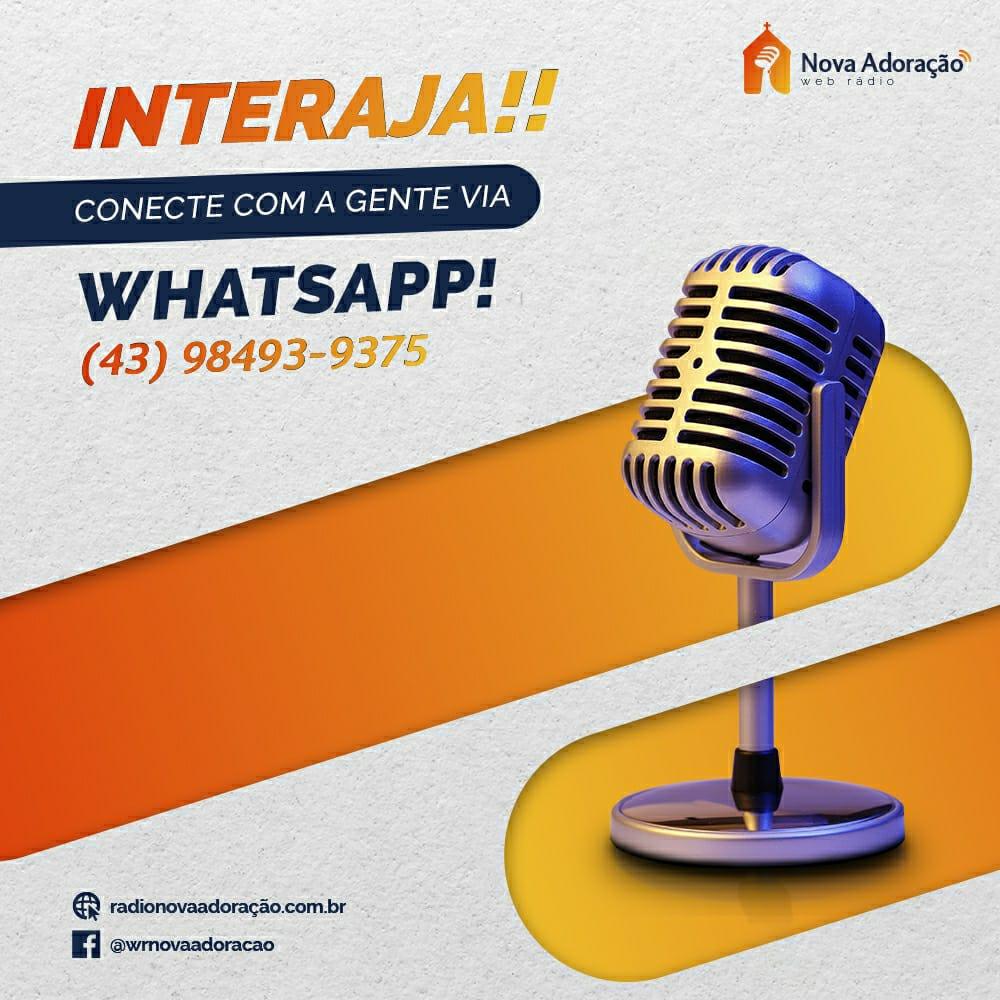 Publicidade Whatsapp Nova Adoração