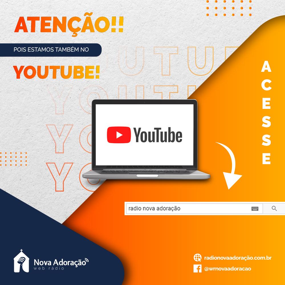 Publicidade Youtube Nova Adoração