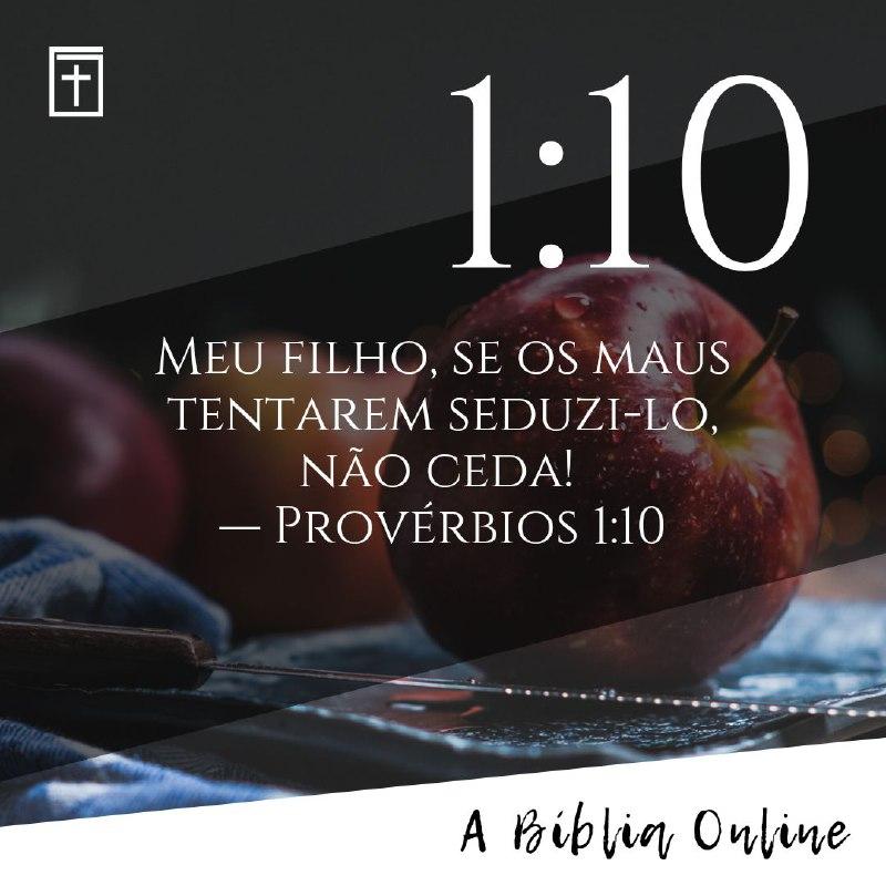 Publicidade Bíblia Online - Telegram