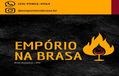 Publicidade Emporio na Brasa